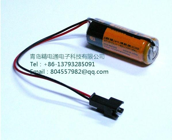 FUJI  FDK LITHIUM BATTERY CR8.L- Connector 4/5A 3V 3000mAh 3