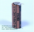FUJI  FDK LITHIUM BATTERY  CR8.LHC -3PIN  4/5A 3V 3000mAh