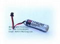 TOSHIBA   ER6V-HRS-Connector AA 3.6V 2000mAh Lithium Battery