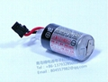 TOSHIBA 1/2 AA  Lithium Battery ER3V/3.6V  1000mAh  ER3V +HRS Connector