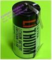 TOSHIBA   ER17330V/3.6V  1700mAh Lithium Battery ER17330V -2T