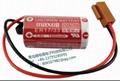 MAXELL ER17/33 +   JAE Connector  2/3A 3.6V 1600mAh Lithium Battery