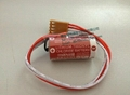 MAXELL ER17/33 + JAE 4P Connector Or  Omron PLC   3.6V  Lithium Battery