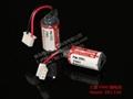 MAXELL ER3 + Connector Or Mitsubishi PLC 1/2AA 3.6V 1000mAh Lithium Battery
