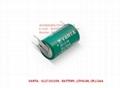 VARTA CR1/2AA-SLF 7.5mm 3Pin 6127101358  CR 1/2 AA S PCBD