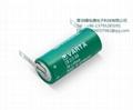 Germany Valta 6237301301 CR 2/3 AA ST  3V 1350mAh  Lithium Battery