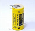 Panasonic battery BR-2/3A   3V 1200mAh -3PIN