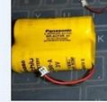 Panasonic Battery BR-AGCF2R  6V   Fanuc