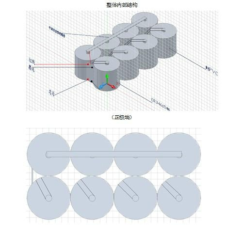 高铁 路桥检测系统电池 特种长效专用电池 WLS-70Ah 4.12V-4.19V 70Ah 5