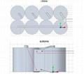 高铁 路桥检测系统电池 特种长效专用电池 WLS-70Ah 4.12V-4.19V 70Ah 14