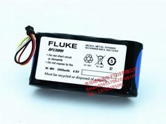 FLUKE tester ScopeMeter, 124, 123, 124 s BP130 battery with plug