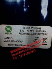 Testo德圖 氣體分析儀 充電電池 0515.0098 HR-4/3FAU 三洋電池組