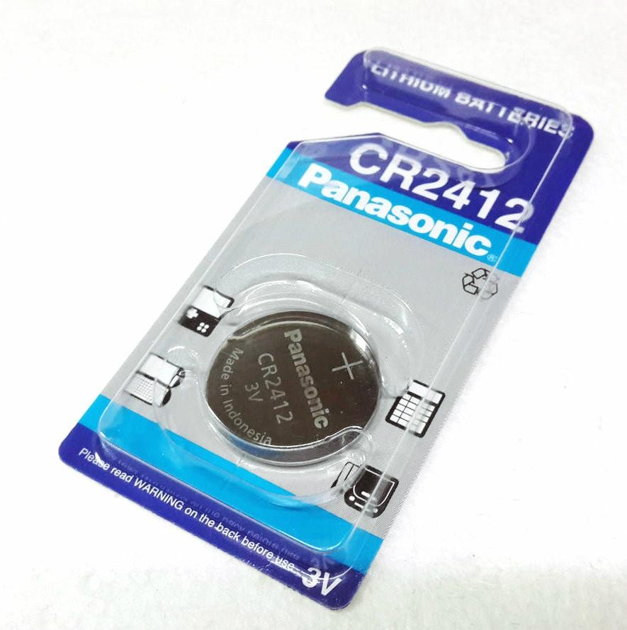 direct import original cr2412 panasonic 3 v lithium manganese button. Black Bedroom Furniture Sets. Home Design Ideas