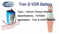 Norway Tron system S - VDR battery lithium batteries