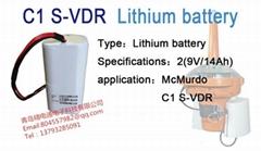 英國 C1 S-VDR 電池 36-149-001B McMurdo 鋰電池
