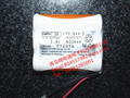 KRO.6AA.3 RA05161  sanyo battery 600 mah