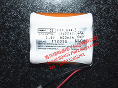KRO.6AA.3 RA05161 三洋 充电 电池组