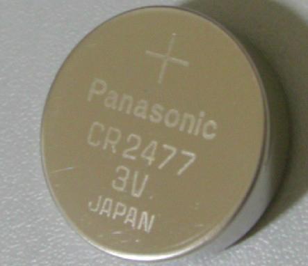 Panasonic CR2450 CR2477 CR2354 CR3032 3V 620mAh Lithium Button Cell   9