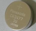 Panasonic CR2450 CR2477 CR2354 CR3032 3V 620mAh Lithium Button Cell