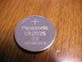 Panasonic battery CR2016  CR2032 CR2025  3V  Lithium Button Cell  5