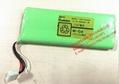 Rechargeable batteries 12 n - 600 aak SANYO battery 14.4 V 600 mah