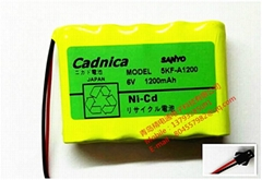 充電電池 5KF-A1200 SANYO 三洋電池組 5V 1200mAh