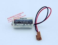 原裝 三洋SANYO電池 CR17335SE- 2PIN 焊腳 3V,1800mAh