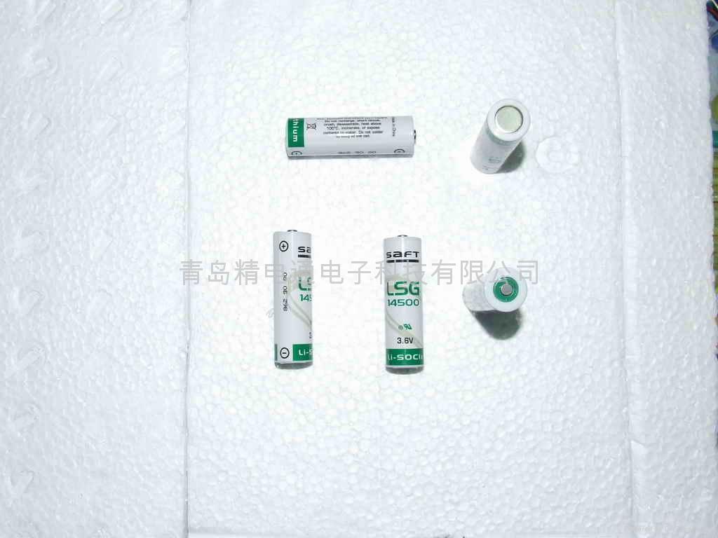 法国SAFT锂电池 LS14500G AA-size 3.6V 2450mAh 1