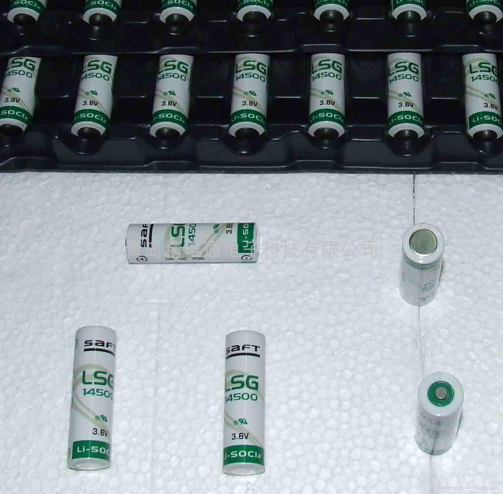 法国SAFT锂电池 LS14500G AA-size 3.6V 2450mAh 3