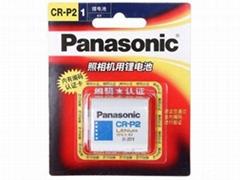 CR-P2 CRP2 松下Panasonic 锂电池 2CP4306 感应器电池