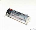 TOSHIBA  Lithium battery ER17500V -3PIN