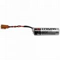 Yaskawa PLC Battery  lithium battery ER-6VC4 ER6V/3.6V