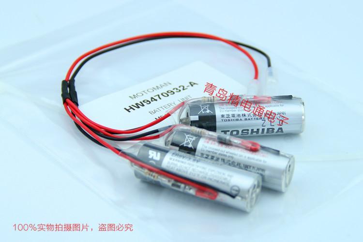 HW9470932-A 安川YASKAMA Motoman机器人 专用电池 142198-1 6