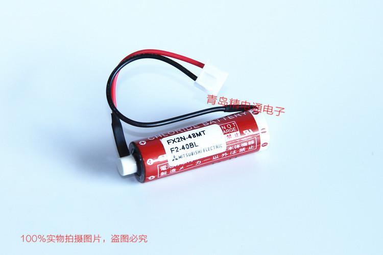 FX2N-48MT Mitsubishi 三菱 PLC 锂电池 ER6C 3