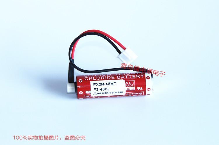 FX2N-48MT Mitsubishi 三菱 PLC 锂电池 ER6C 8