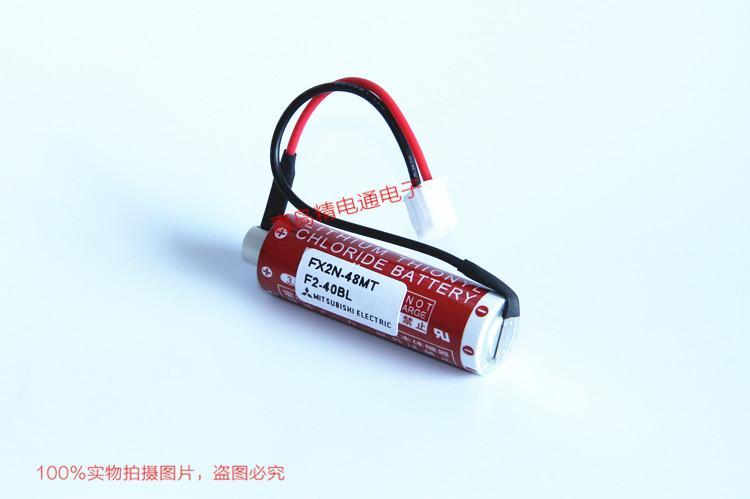 FX2N-48MT Mitsubishi 三菱 PLC 锂电池 ER6C 9