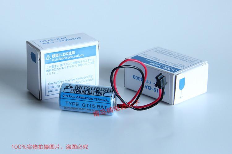 GT15-BAT CR17335SE-R Mitsubishi 三菱 PLC 锂电池 6