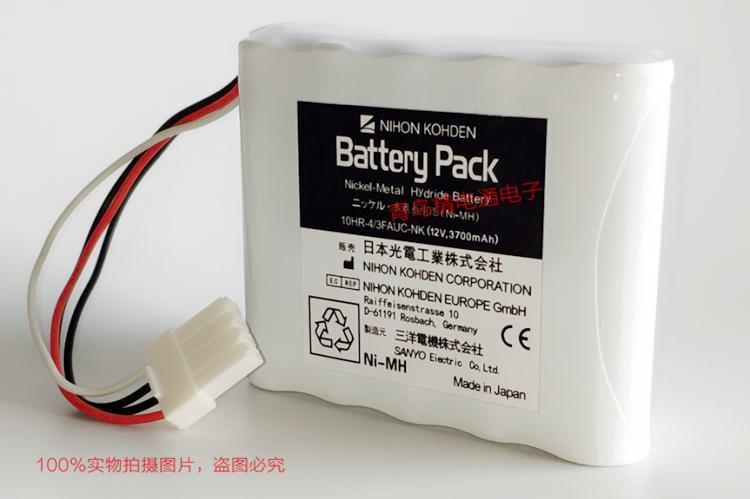 10HR-4/3FAUC-NK 日本光电 电池 Nihon Kohden BSM-2300 608237 3