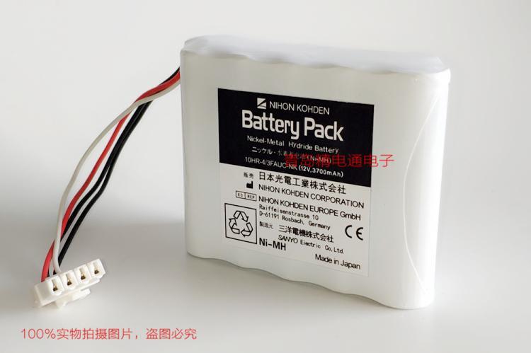 10HR-4/3FAUC-NK 日本光电 电池 Nihon Kohden BSM-2300 608237 9