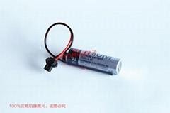 東芝 ER6V 3.6V OTC焊接機器人電池  AA 2000mAh