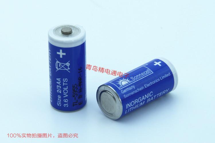 Sonnecell TL-5955 2/3AA 德国 阳光 锂电池 3.6V Sonnenschein 4