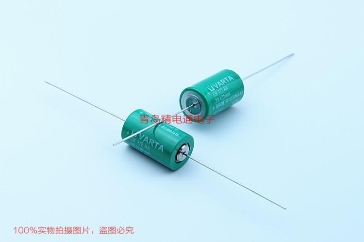 CR1/2AA AXIAL 6127501301 德国 VARAT 瓦尔塔 电池 原厂轴线 10