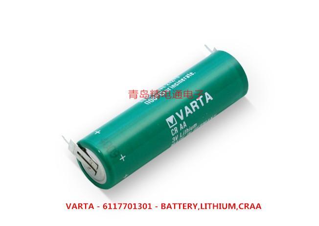 CRAA CR14500 VARAT 瓦尔塔 3V 锂电池 6