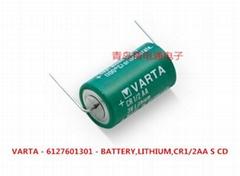CR1/2AA CR14250 VARAT 瓦尔塔 3V 锂电池