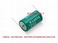 CR1/2AA CR14250 VARAT 瓦尔塔 3V 锂电池 3