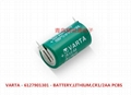CR1/2AA CR14250 VARAT  3V lithium battery