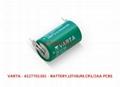 CR1/2AA CR14250 VARAT 瓦尔塔 3V 锂电池 9