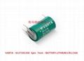 CR1/2AA CR14250 VARAT 瓦尔塔 3V 锂电池 10