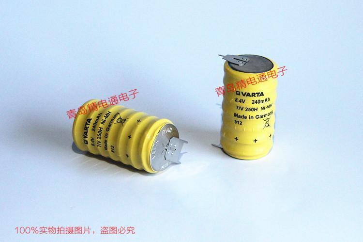 7/V250H 德国VARAT 瓦尔塔 充电 纽扣 电池组 黄皮 1
