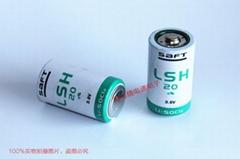 SAFT法国 LSH20 电池13Ah 3.6V D-size